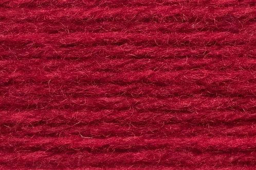 Irische Strickwolle Irish Pagan Wolle Rot