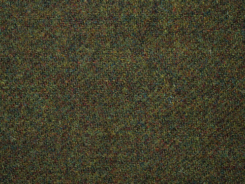 "Original Harris Tweed Meterware ""Old Moss"" warm dunkelgrün"