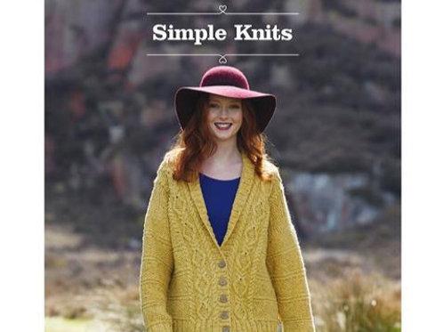 Strickmuster Buch für irische Pullover & Cardigans