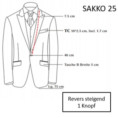 Sakkoform 25
