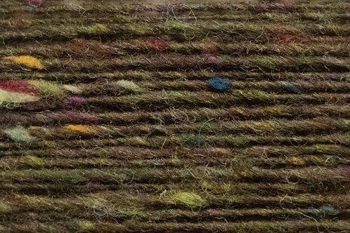 100% Irische Merinowolle Softe Strickwolle Dunkles Wiesengrün