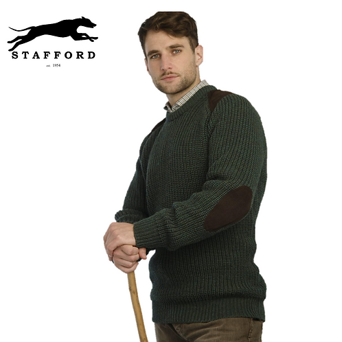"Stafford Fisherman / Jagd Herren Wollpullover ""Limerick"""