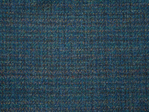 "Original Harris Tweed Meterware ""Deep Sea"" grün/blau Barleycorn"