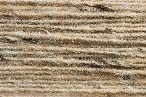 Merino und Baby-Mohair Wolle Irische Strickwolle Wollgarn Beige Braun