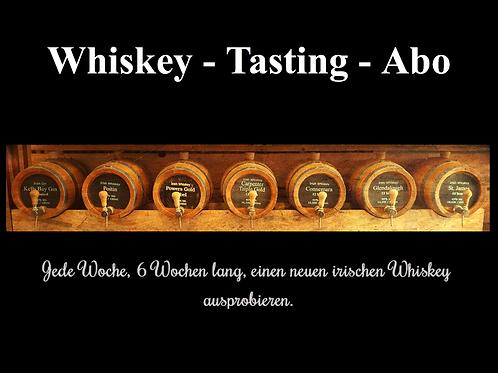 """Whiskey Abo """"Irish Collection"""" 1x wöchentlich 6 Wochen"""