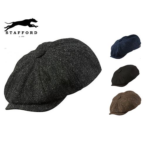 """Stafford Harris Tweed Baker Boy Mütze """"Bulky"""""""