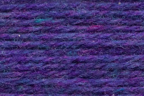 Irische Strickwolle Irish Pagan Wolle Violet
