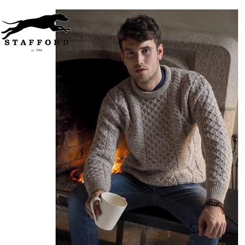 """Stafford Herren Merino Wollpullover """"Tipperary Classic"""""""