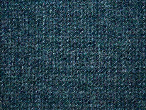 "Original Harris Tweed Meterware ""Moray Sea"" blau/türkis Barleycorn"