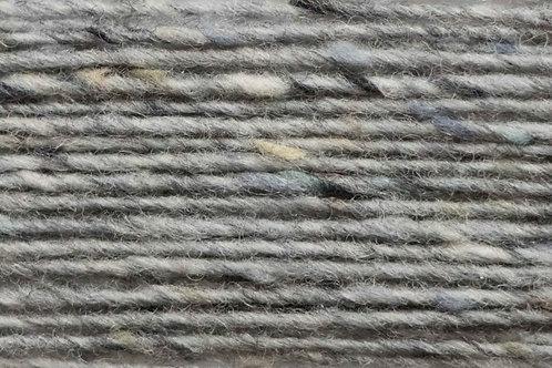 100% Irische Merinowolle Softe Strickwolle Grau