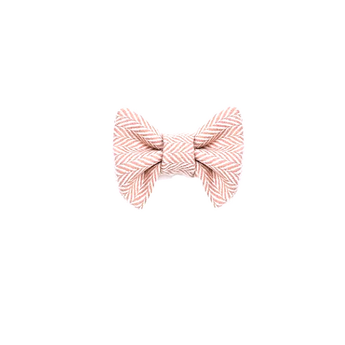 "Hunde Halsband Schleife  ""Miss Dusty Pink Bow"""