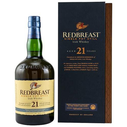 Original Redbreast Whiskey 21 y.o. in Box (Holz)