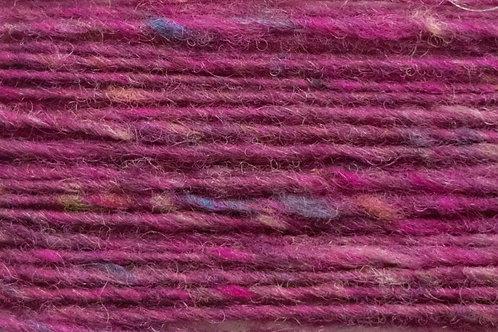 Merino und Baby-Mohair Wolle Irische Strickwolle Wollgarn Pink