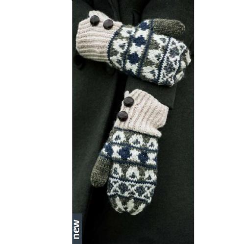 """Damen Winter Handschuhe  Merino """"Elaine Glove"""" Handmade"""