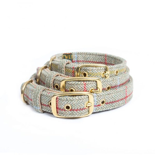 "Hunde Halsband Tweed ""Charly"""