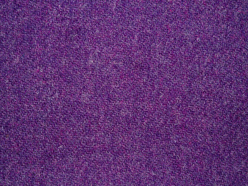 "Original Harris Tweed Meterware ""Violet""  warm /violet"