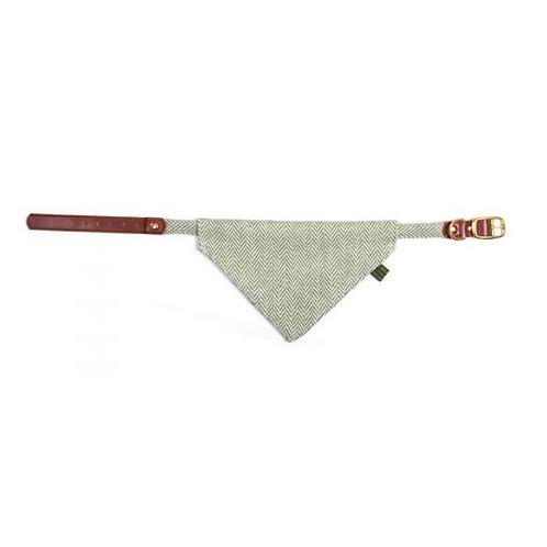 """Hunde Halstuch Tweed """"Sea Weed"""""""