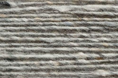100% Irische Merinowolle Softe Strickwolle Grau/Beige