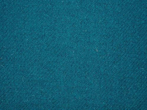 """Original Harris Tweed Meterware """"Turquoise"""" warm türkis"""