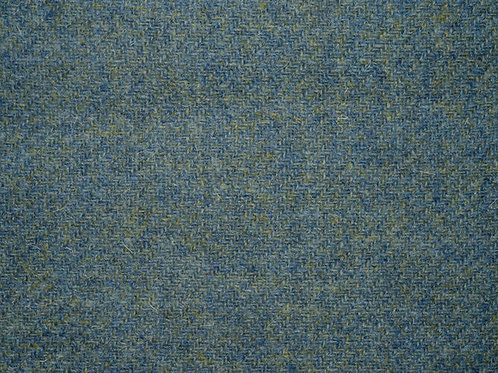 "Original Harris Tweed Meterware ""Ocean Moss"" warm blau/grün"