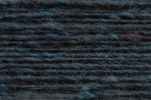100% Irische Merinowolle Softe Strickwolle Dunkelblau