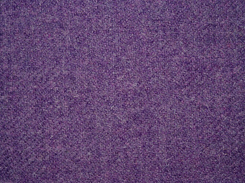"Original Harris Tweed Meterware ""Old Violet""  warm /violet"
