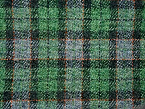 """Original Harris Tweed Meterware """"Apple Check""""grün/grau kariert"""