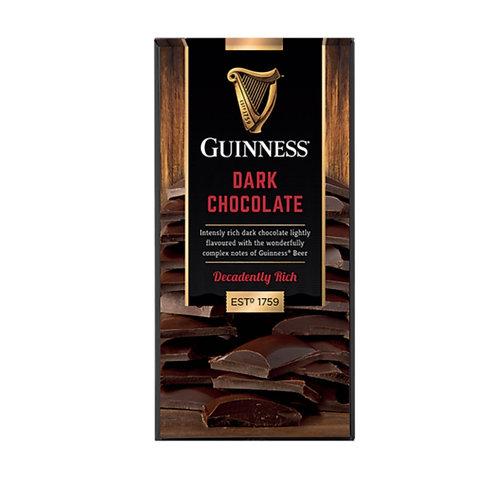 Guinness Dunkle Schokolade 90g Tafel