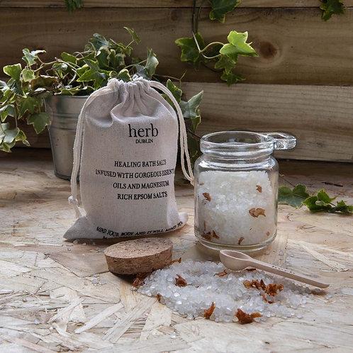 "Handmade Botanical Bade-Heilsalz ""Health-Sun"""