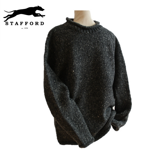 "Stafford Merino Tweed Wollpullover ""Instead of a Jacket"""
