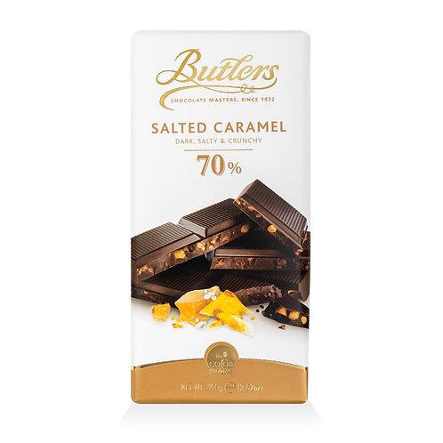"""Gesalzene Karamellschokolade von Butlers """"Salty & Crunchy"""""""