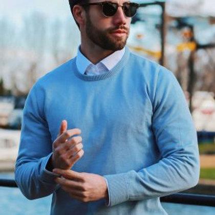 """Herren Pullover """"Oxford"""" 100% Spanische Baumwolle"""