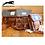"""Thumbnail: Stafford Leder & Harris Tweed """"Vintage Tiny Bag"""""""