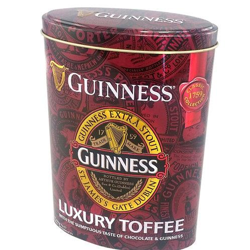 Guinness Luxury Fudge Karamellbonbons in nostalgischer Blechdose