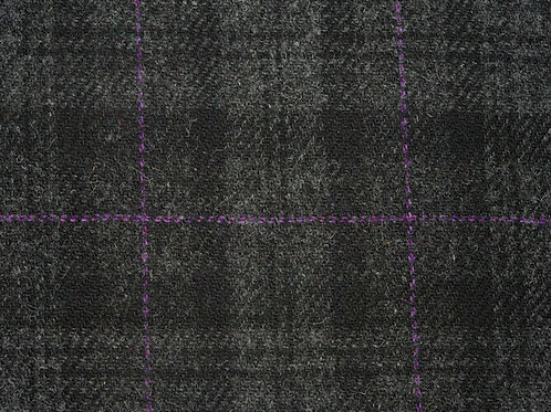 "Harris Tweed Maßsakko ""Black Violet"""