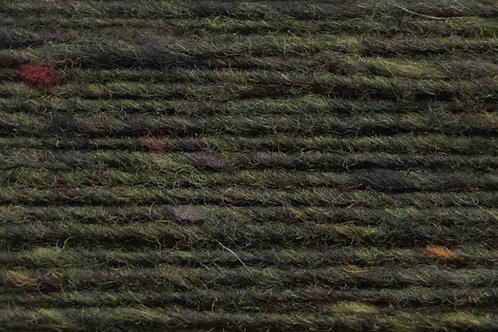 100% Irische Merinowolle Softe Strickwolle Dunkel Grün