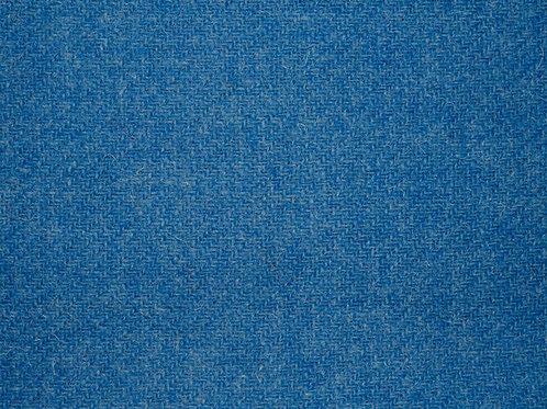 """Original Harris Tweed Meterware """"Ocean"""" Meerblau"""