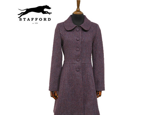 "Stafford Harris Tweed femininer Damen Mantel ""Wynona"""