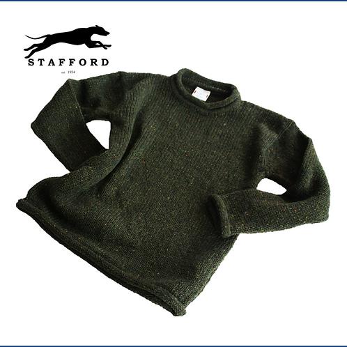"""Stafford Merino Tweed Pullover """"Mohar"""""""