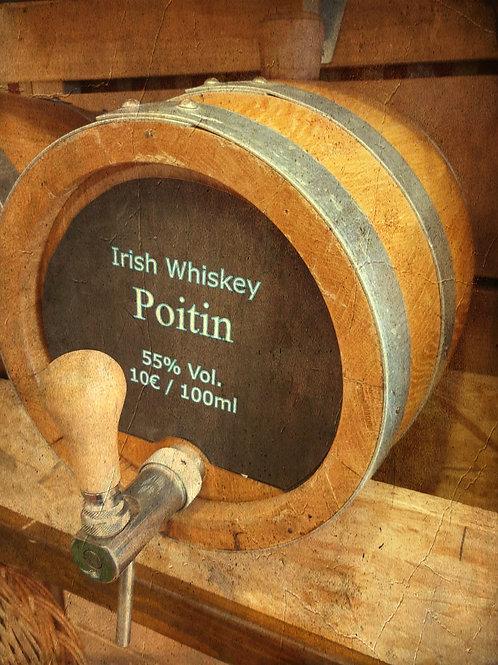 """Irish Whiskey Original """"Poitín""""  der Ursprung von allem 55% vom Fass"""