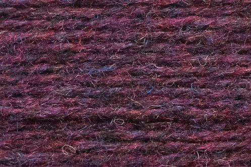 Irische Strickwolle Irish Pagan Wolle Dunkel- und Hell-Violet