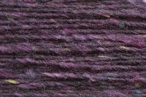 Merino und Baby-Mohair Wolle Irische Strickwolle Wollgarn Tiefes Violet