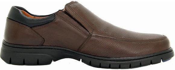 0501 - Sapato Masculino Em Couro Conforto Medical Line