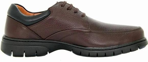 0503 - Sapato Super Gel Em Couro Legítimo Medical Line