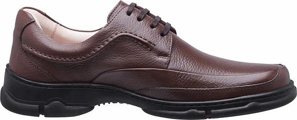 0121 - Sapato Masculino Medical Line Conforto Gel Couro