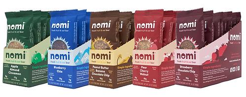 nomi fresh refrigerated granola bars