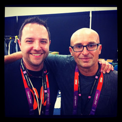 Me & Mike Dolbear pre show