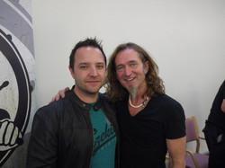 Me & Geoff Dugmore