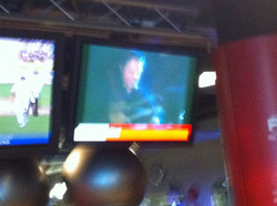 Hashell video on TV in Virgin Active