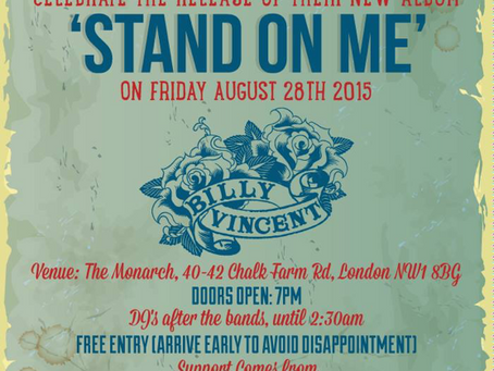 Stand On Me album launch